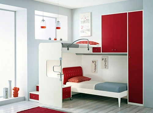 Schlafzimmer komplett - Small bedroom Arrange - Mission reachable!