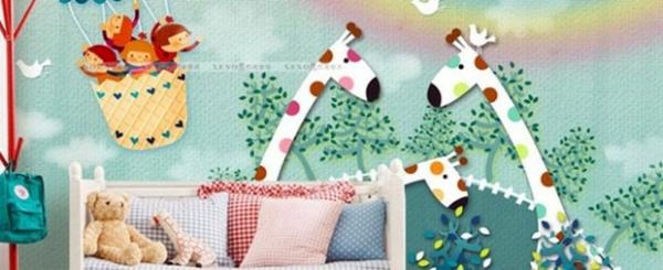 Baby Room Wall – 15 Wall Art Ideas With Animals | Interior Design Ideas | AVSO.ORG