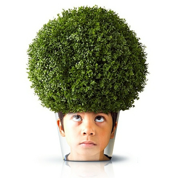 Möbel - Modern Planters with Face - Funny cool decoration ideas