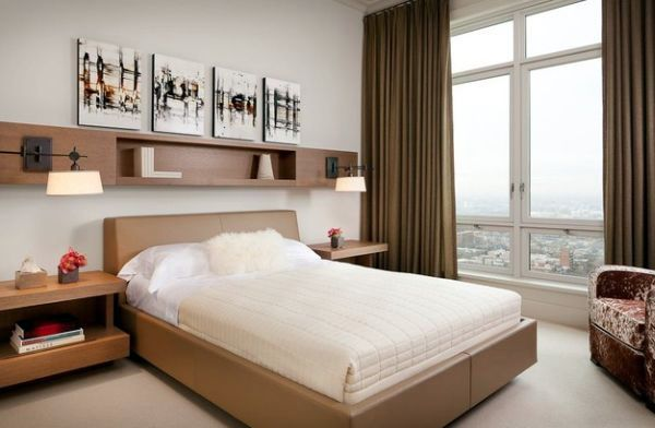 Schlafzimmer - Cool decor ideas for small bedrooms - 10 useful suggestions