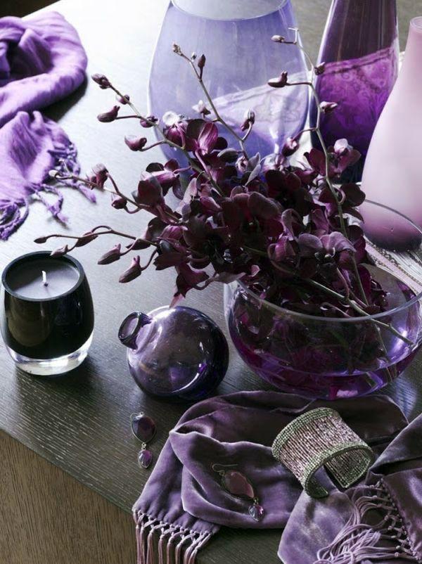 Farben - Interior Design Ideas - The violet color in the interior