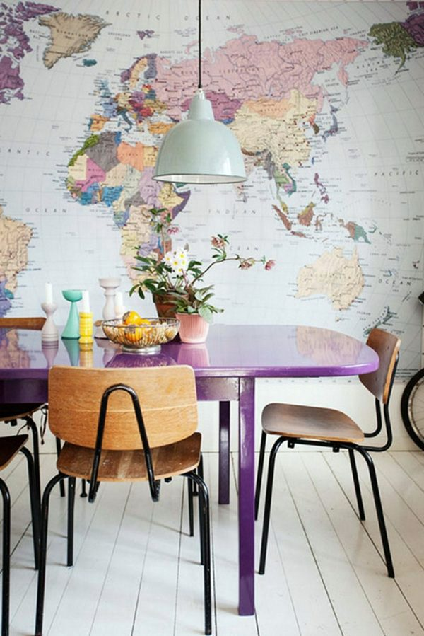 Wohnideen - Interior Design Ideas - The violet color in the interior