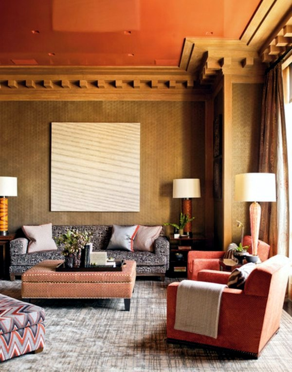 Möbel - Upholstered furniture and home interior - 20 great decorating ideas