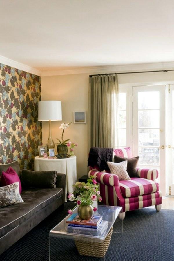 Wohnzimmer einrichten - Upholstered furniture and home interior - 20 great decorating ideas