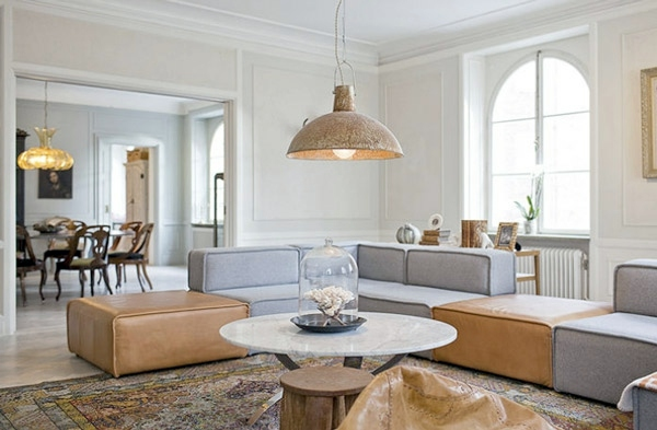 Wohnzimmer Ideen - Good Feng Shui Living Room - you determine the Bagua of your living room