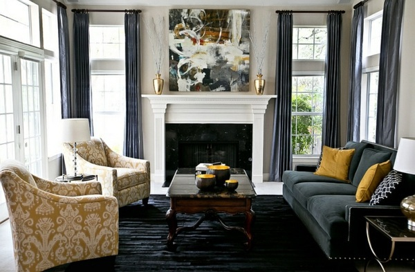 Yellow Color Schemes For Living Rooms | Glif.org