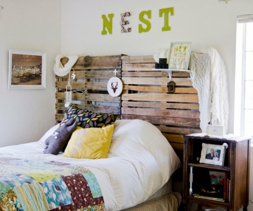 Bastelideen - Cool Furniture from Euro pallets - 55 craft ideas for recycled wooden pallets