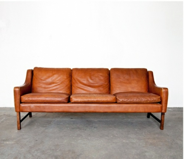 Dye leather sofa – old leather furniture refresh and ...