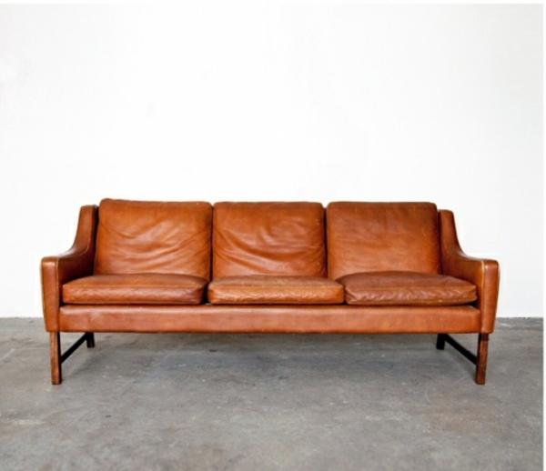 Leather Sofa Old Furniture
