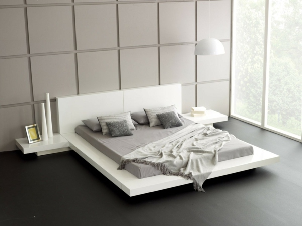 Schlafzimmer Ideen - Bedroom wall design - wall decoration behind the bed