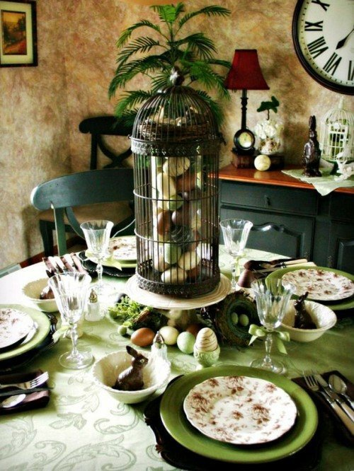 Osterdeko basteln - 100 cool craft ideas for Easter 2014