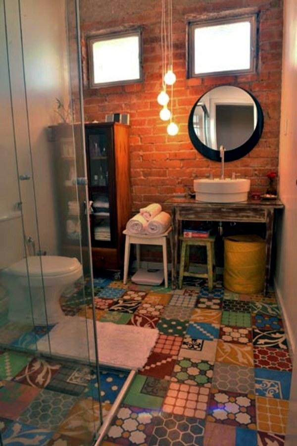Small Bathroom Tile Bright Tiles Make Your Bathroom Appear Larger Interior Design Ideas Avso Org
