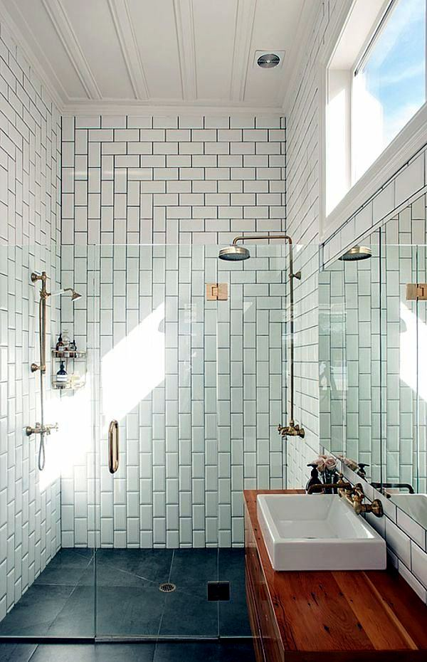 Small Bathroom Tile Bright Tiles Make Your Bathroom