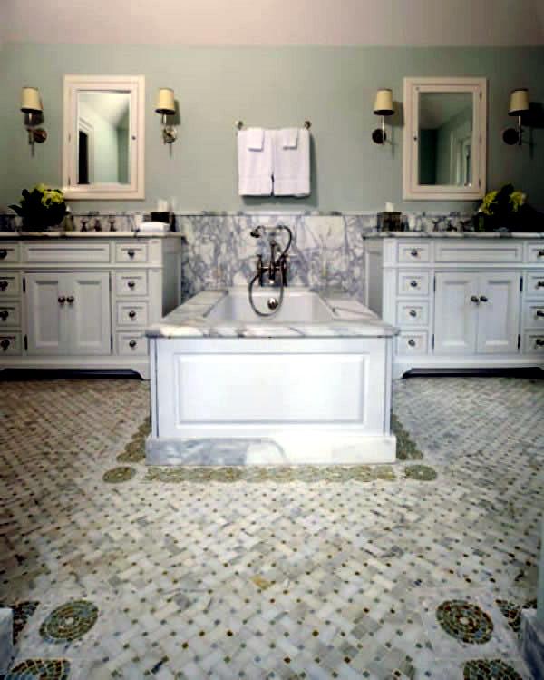 unusual ideas for bathroom floor  interior design ideas