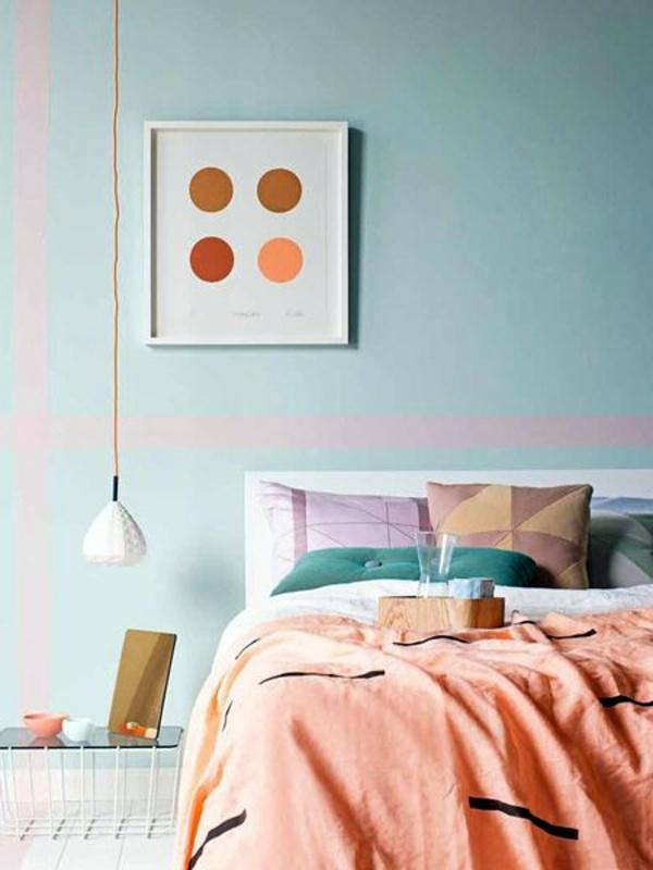 Wanddeko - Bedroom wall design - Thematic Bedroom Design and Wall Decoration