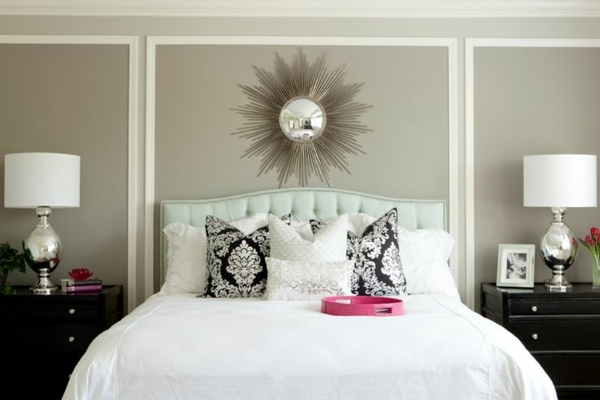 Wandgestaltung - Bedroom wall design - Thematic Bedroom Design and Wall Decoration