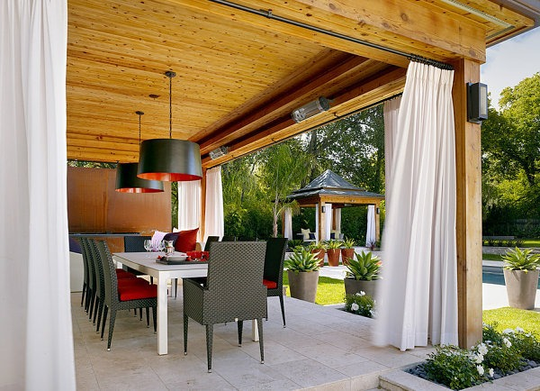 Lounge Gartenmöbel - Modern terrace design - cool lounge furniture outdoor