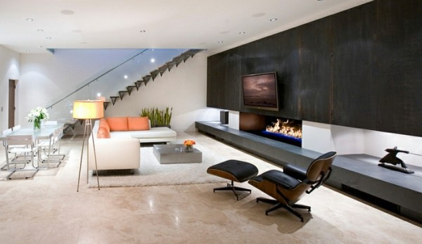 Contemporary - Room ceiling ideas can be any room appear larger