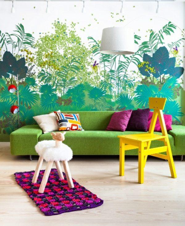 Fototapeten - Jungle Kids wallpaper - We make children