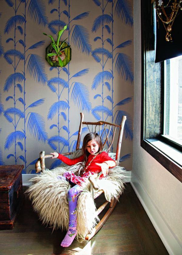 Wandgestaltung - Jungle Kids wallpaper - We make children