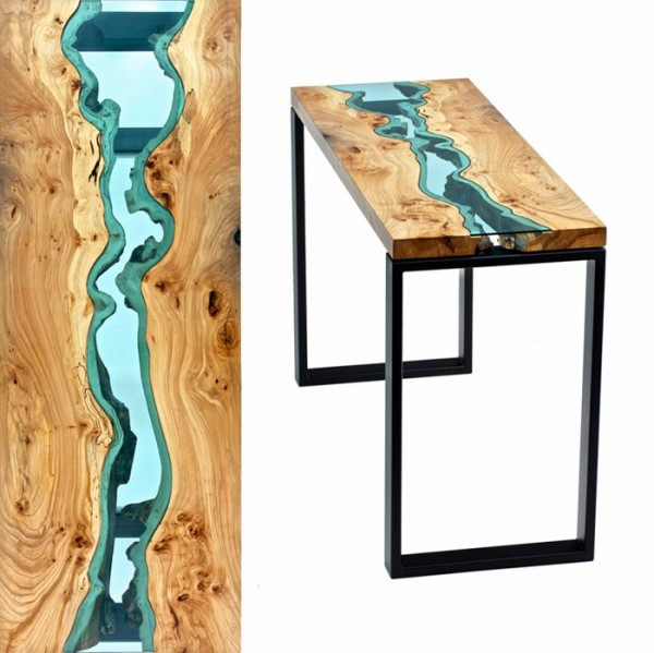 Designer dining tables designed by Greg classes
