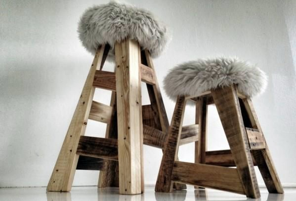 Bastelideen - 70 pallets of furniture - beautiful craft and interior design ideas for you