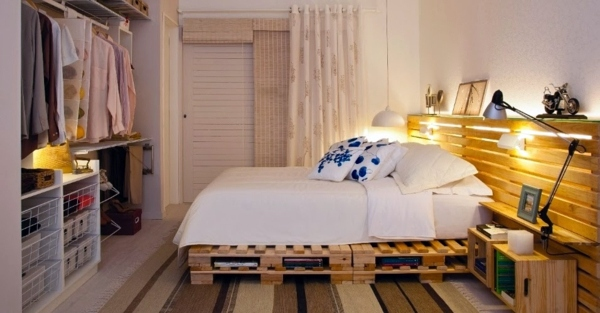 DIY Möbel - 70 pallets of furniture - beautiful craft and interior design ideas for you