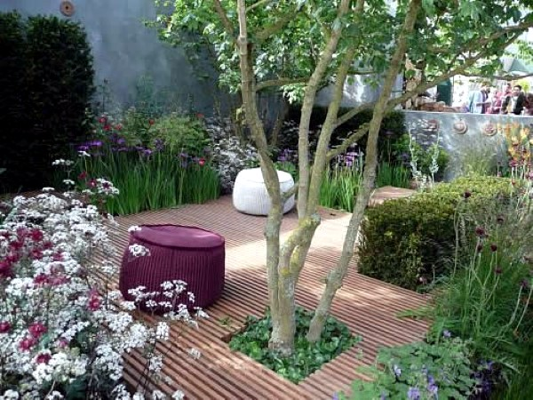 Small Town Garden Decorating Ideas And Pictures Interior