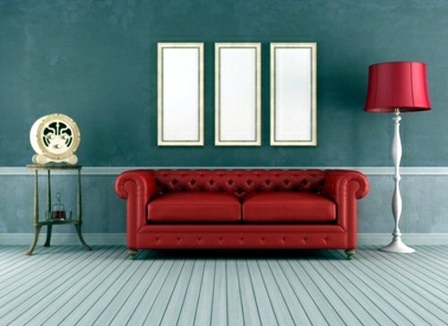 Wohnzimmer Ideen - Tips for the retro look in the living room