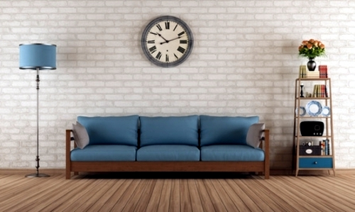 Tips for the retro look in the living room