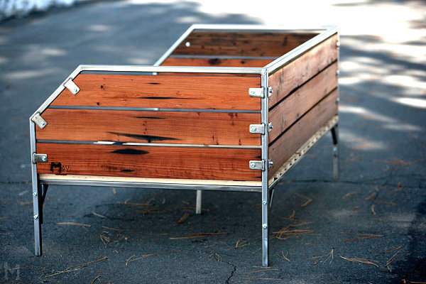 Original furniture made from used wood - 12 inspirational ideas for your home