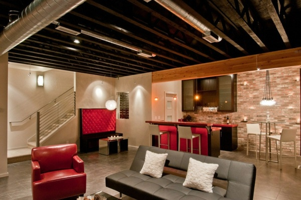 attic remodeling ideas/pictures - Basement Lighting – Find the right solution for you