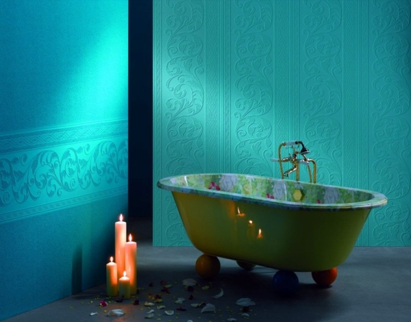 Farben - Wall color lagoon - you feel the sea breeze and the home