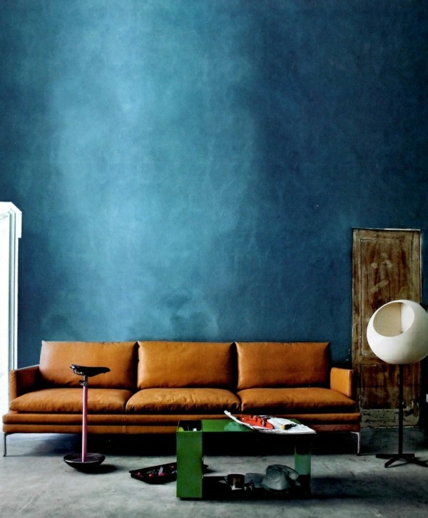 Wall color lagoon - you feel the sea breeze and the home