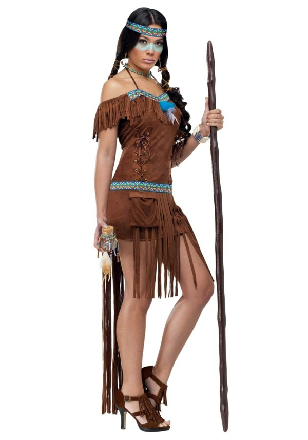 Pocahontas Costume Mardi Gras Costumes For Women