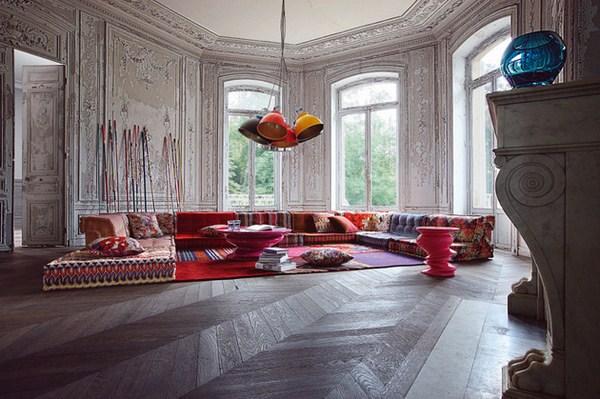 Wohnzimmer Ideen - Bohemian Living: Roche Bobois' Modular sofa