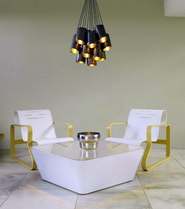 40 lighting ideas for living room - cool, modern living room lamps