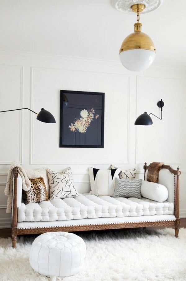 Wohnzimmereinrichtung - 40 lighting ideas for living room - cool, modern living room lamps