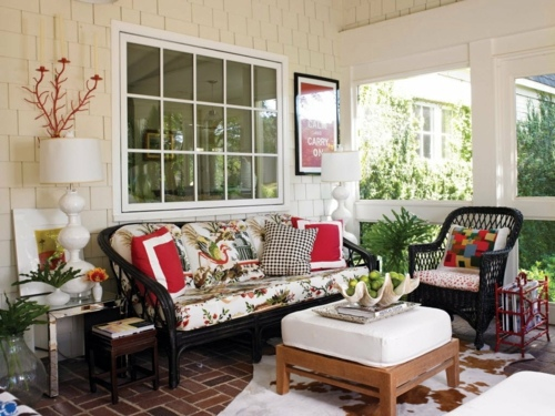 Balkonmöbel - The porch in the summer make - 11 ways you can create the best of it