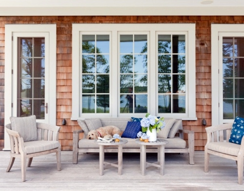 Gartengestaltung - The porch in the summer make - 11 ways you can create the best of it