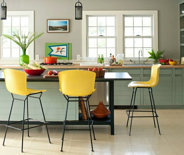 Farben - 30 cool ideas for living color combination - Hot trend colors 2014