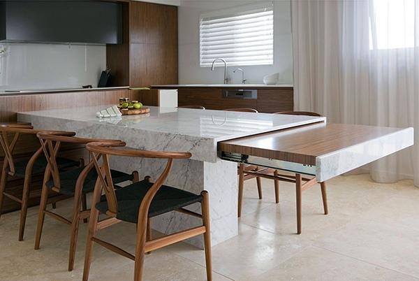 Small Apartment in Sydney - chic contemporary decor of Minosa Design Studio