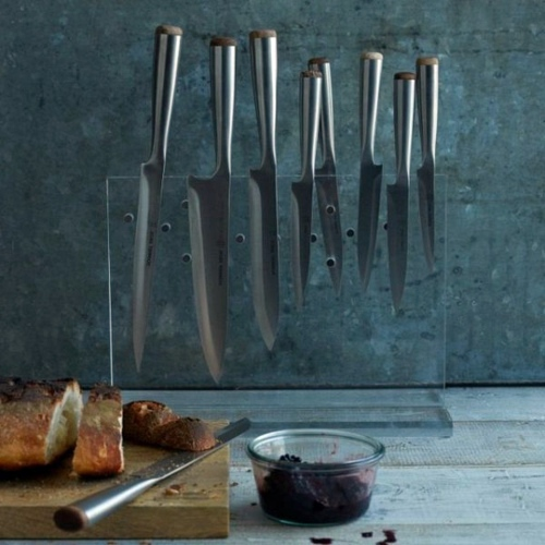 Küchen - Knife Block for Kitchen Knives - Arrange your knife set with style on!