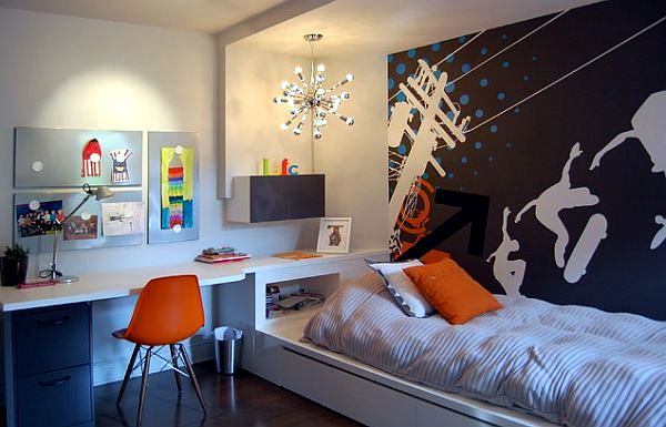 Cool trendy teen rooms for boys - modern decor | Interior ... on Trendy Teenage Room Decor  id=62186