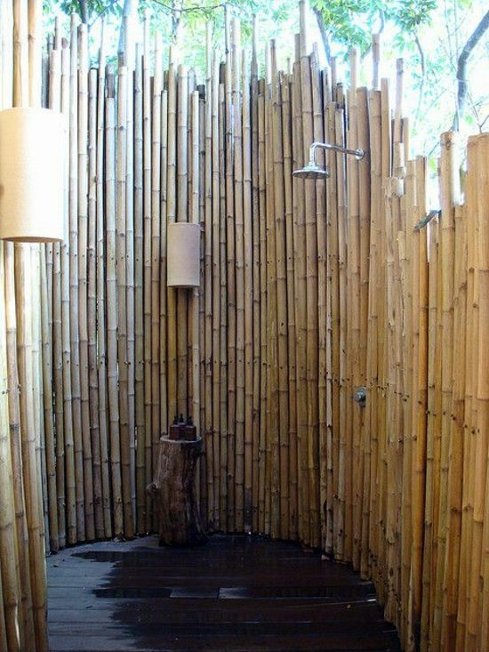 Outdoor Shower Build Yourself Learn