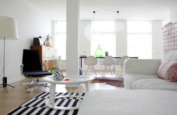 An apartment with swing - great design ideas for your home