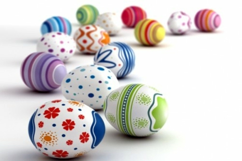 DIY Deko - 40 decorating ideas for Easter decoration with Easter eggs