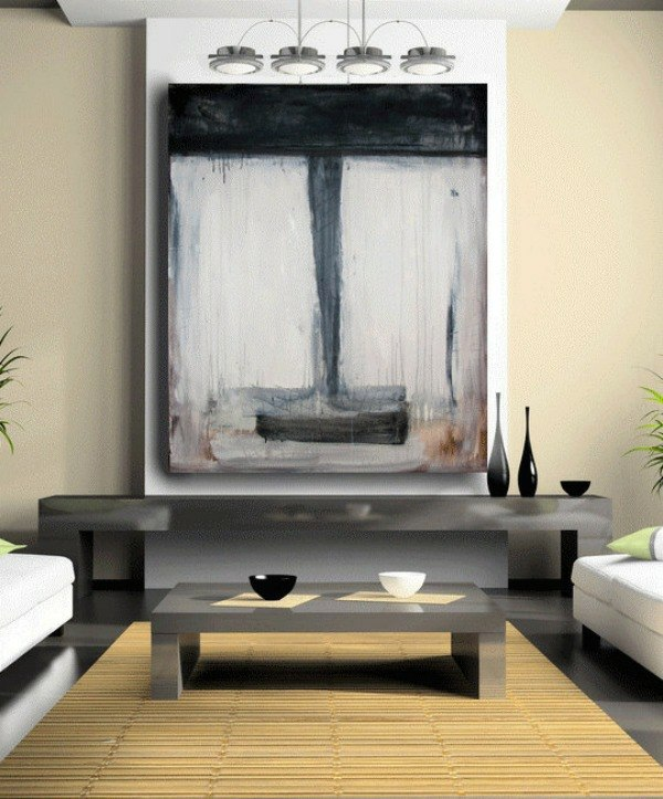 Wanddekoration - Creative wall design with abstract art