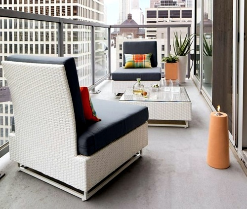 Außenmöbel - Cool balcony furniture ideas - 15 practical tips for a beautiful terrace