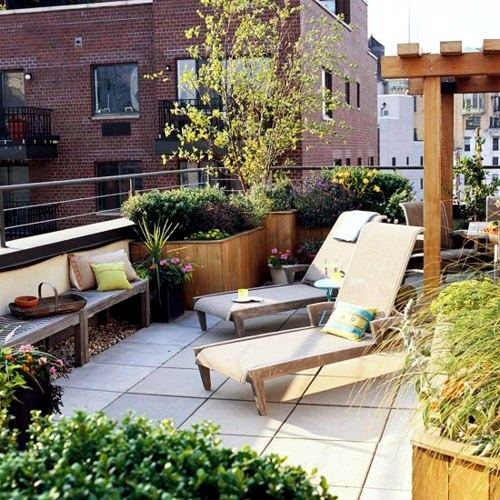 Balkonmöbel - Cool balcony furniture ideas - 15 practical tips for a beautiful terrace